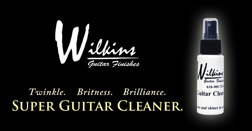 Wilkins Guitar Cleaner