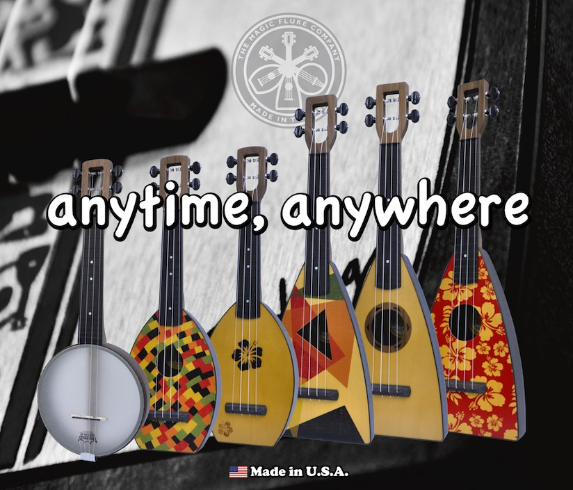 The Magic Fluke Ukuleles