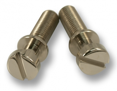 STOP TAILPIECE STUDS / BRASS / Nickel