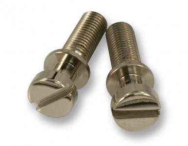 STOP TAILPIECE STUDS / STEEL781 / Nickel