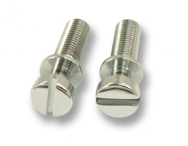 STOP TAILPIECE STUDS / STEEL781 / Chrome