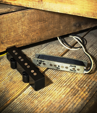 Precision Bass® Split-coil Pickups