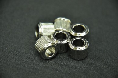 ADAPTER BUSHINGS (SET 6) 6mm ID Nickel