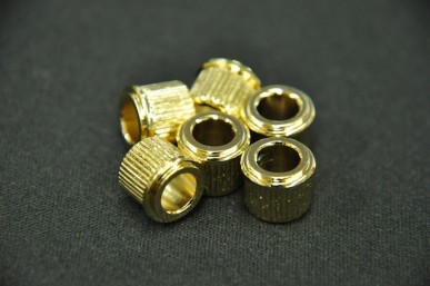 ADAPTER BUSHINGS (SET 6) 6mm ID Gold